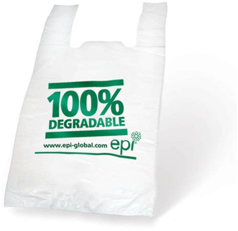 Degradable Carrier Bags 11x17x21 R R Packaging