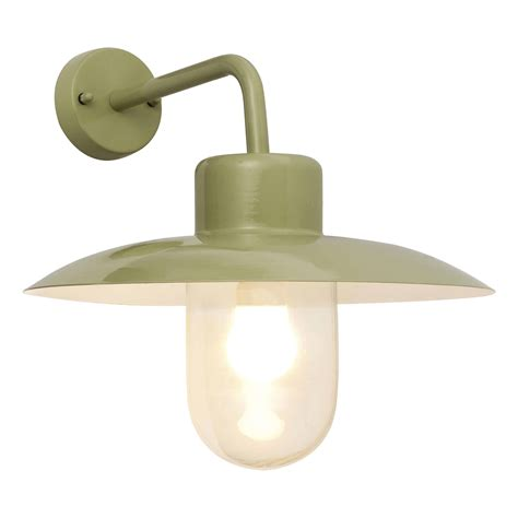 blooma mara green external wall light departments diy