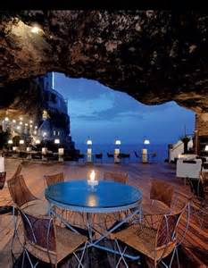 Cave Restaurant Italy