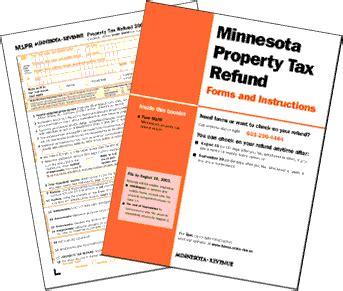 minnesota form m1pr tax refund minnesota property tax refund