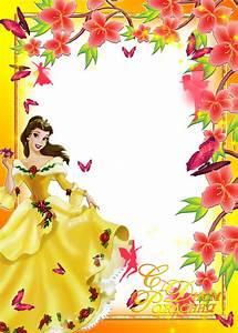 Central Photoshop: frames PNG fotos princesas disney #3