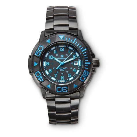Blue Dive Watches - smith wesson tritium dive 234352 watches at