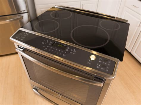 slide in electric range with downdraft ge profile stove top standing home ideas collection