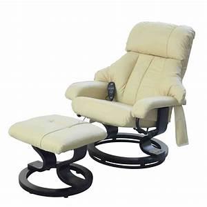 Fauteuil Electrique Conforama : fauteuil relax massant brasilia similicuir ~ Teatrodelosmanantiales.com Idées de Décoration