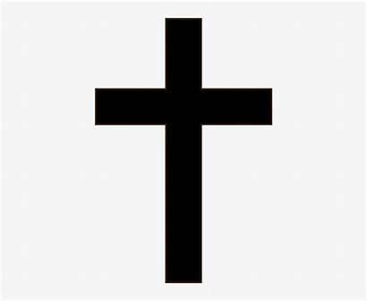 Cross Crucifix Clipart Simple Background Tattoo Transparent