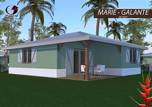 construire sa maison bois en martinique guadeloupe guyane With construire sa maison en guadeloupe