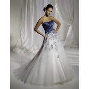 robe de mariã e rock robes de mariée bleu et blanc robe de mariée décoration de mariage