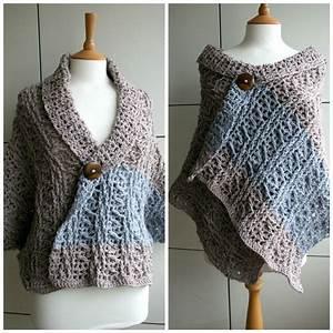 Diy Fall Wrap  Sweater Crochet Pattern