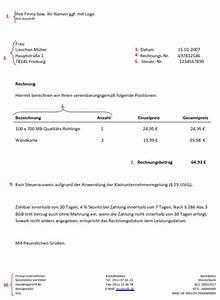 Vorsteuerabzug Rechnung : steuerberater tipp wie schreibe ich meine rechnungen ~ Themetempest.com Abrechnung