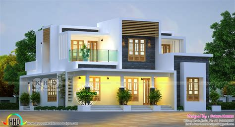 House Design by 204 Sq M Contemporary Home Home Design And Floor