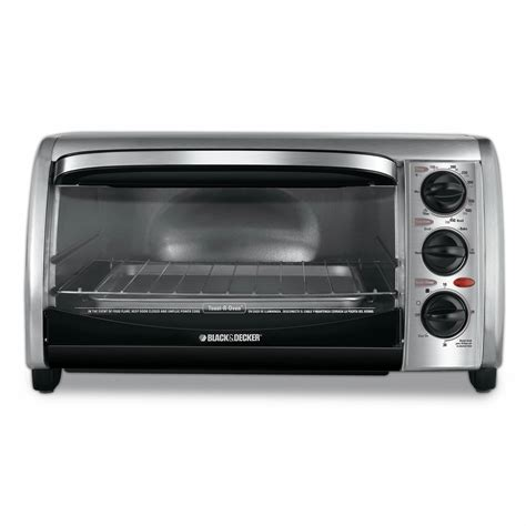 Black Decker Toaster Oven by Black Decker 4 Slice Toaster Oven Stainless Steel Bj