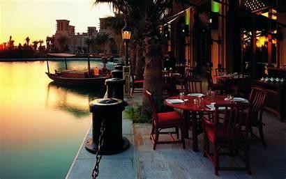 Restaurant Cafes Sunset Urban Cityscape Desktop Backgrounds