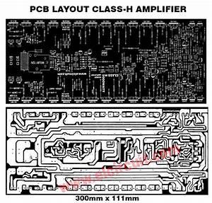 Pcb Layout Amplifier 300 Watt