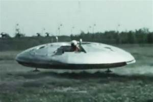 UFO-style craft the Avrocar revealed in new top secret ...