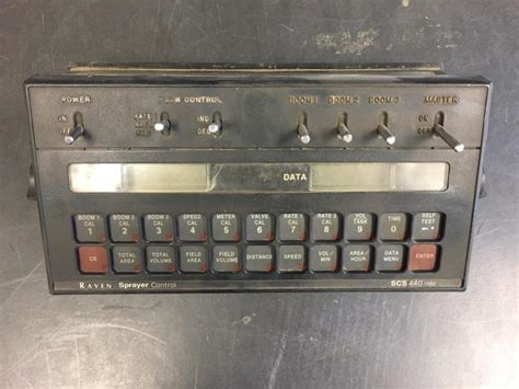 Raven Scs 440 Manual Raven Scs 450 Spray Control Console 6