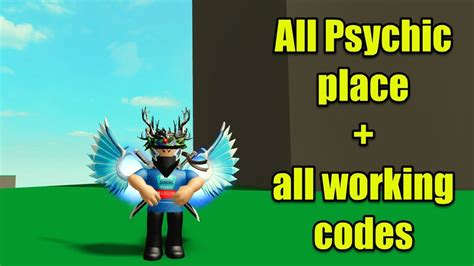 psychic placesall working codes roblox power