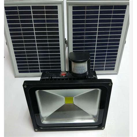 led solar flood light 50w ip65 waterproof for lawn garden