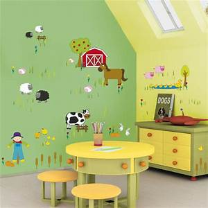 10 kids bedroom wall decor ideas freshnist With childrens bedroom wall painting ideas