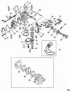 Mercury Marine 15 Hp Seapro Carburetor  10    Xr    Magnum