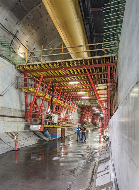 State Route 99 Tunnel Formwork Solution For Doubledeck
