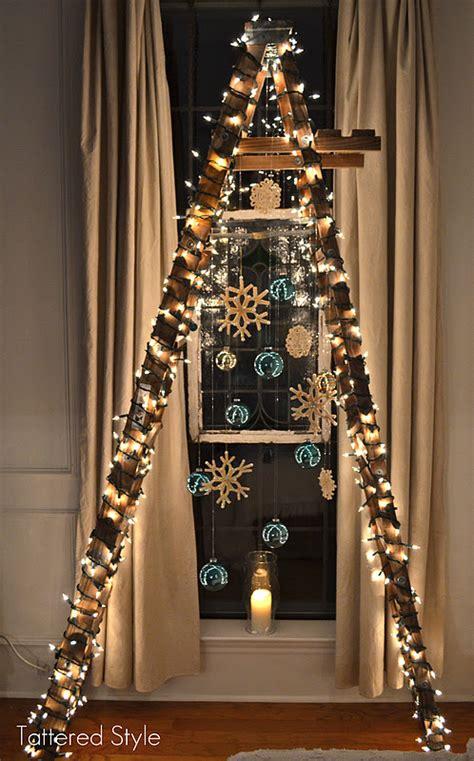 tattered style ladder tree