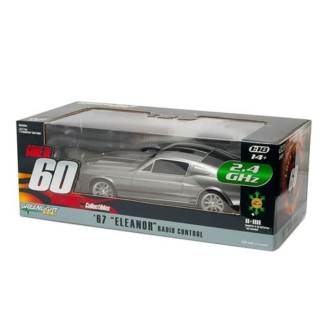 greenlight  eleanor  ford mustang rc car