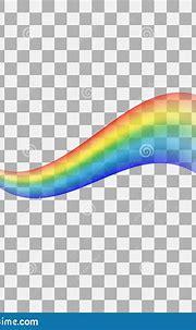 Rainbow Icon Isolated On Transparent Background ...