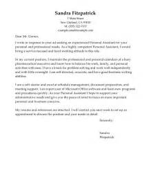 Leading Professional Personal Assistant Cover Letter