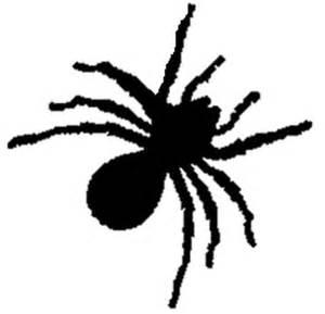 Halloween Spider Stencil Cut Out