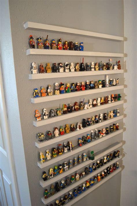 Jedi Craft Girl Diy Lego Minifigure Storage Shelves Tutorial