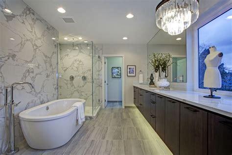 freestanding tubs  walk  showers trends  bathroom