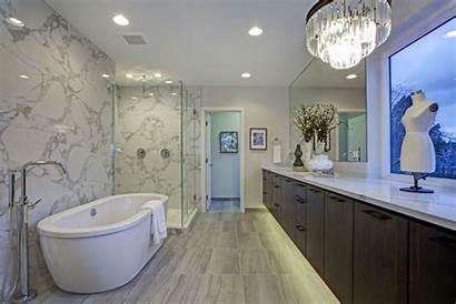 Marble Bathroom Shower Calacatta Freestanding Trends Tub