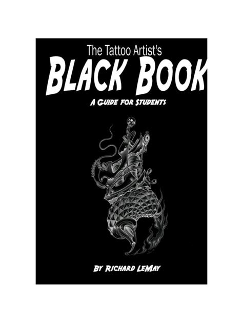 Tattoo Artists Black Book par Richard LeMay - the black book of tattooing pdf - Fichier PDF