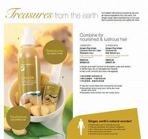 Nutrimetics Ginger Plus Virgin Coconut Oil Hair Se End 3
