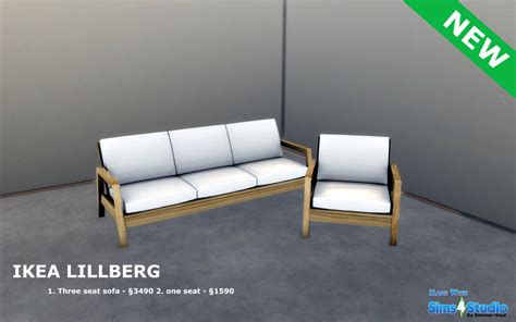 canapé ikea lillberg ikea lillberg seating by simmer soul teh sims