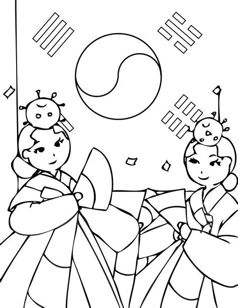 wedeminute stats page  korean coloring pages