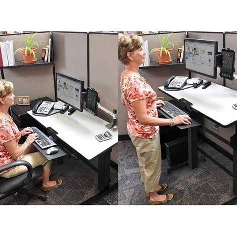 up and down desk amazon com ergotron workfit d sit stand desk light grey