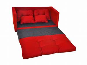 canape convertible 2 places pillo coloris rouge vente de With tapis chambre enfant avec vente canape internet