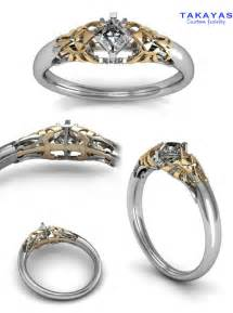 pics of wedding rings legend of engagement rings and wedding bands geekologie