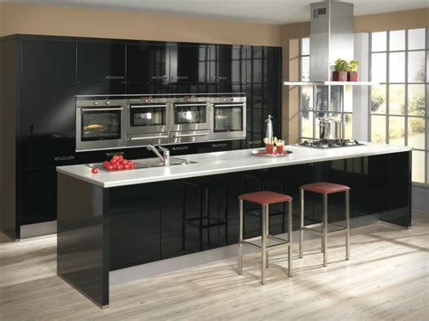 black and kitchen ideas the black and white kitchen designs for your home my kitchen interior mykitcheninterior