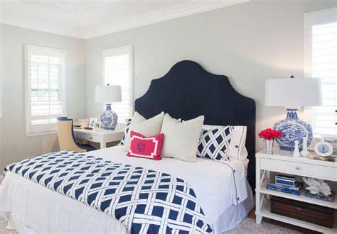 navy  white bedroom ideas  decoor