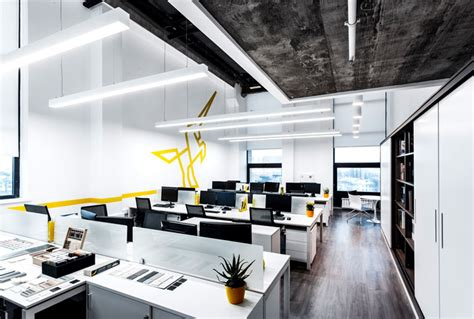 Contemporary Creative Office Space By Ind Architects