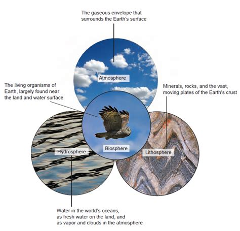 Diagram Of Earth Sphere by Spheres Systems And Cycles All Geography Now
