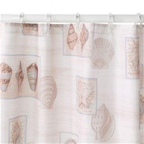 shower curtains seashell fabric shower curtain foter Seashell