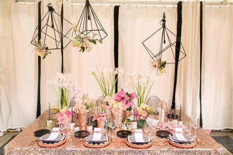 6 rose gold wedding styling ideas that we're totally here for