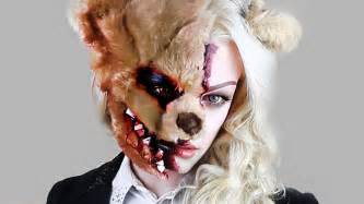 creepy doll costume evil teddy tutorial scare fx moments