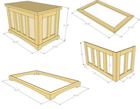 build  pocket hole blanket chest jays custom creations