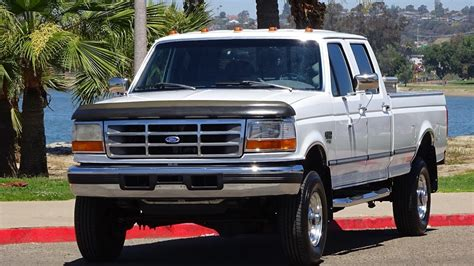1997 FORD F350 XLT CREW CAB LONG BED 7.3L DIESEL 4X4 OBS