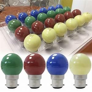 Ampoules A Baionnette Couleur : pack 24 ampoules incandescentes b22 15w sph rique couleur ~ Edinachiropracticcenter.com Idées de Décoration