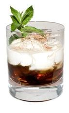 kahlua sombrero the mint sombrero drink is made from kahlua peppermint moca liqueur half and half and grated